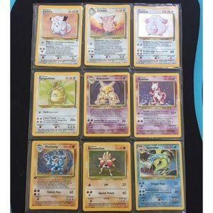 Rare Pokémon Collection of Original Holo Cards Set